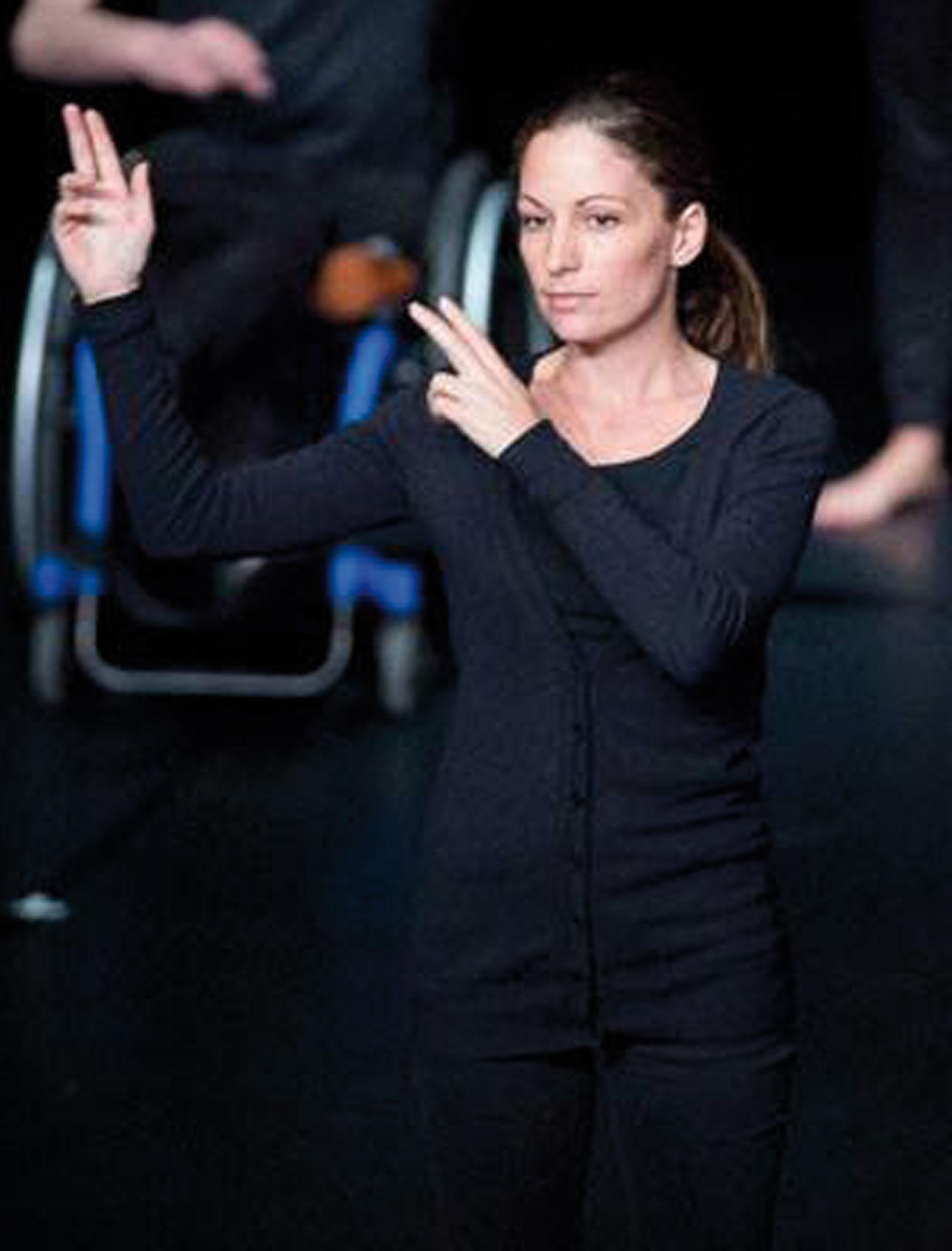 Présentation de Agathe Catel, animatrice de l'atelier théâtre